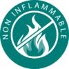 Pictogramme « Non inflammable »